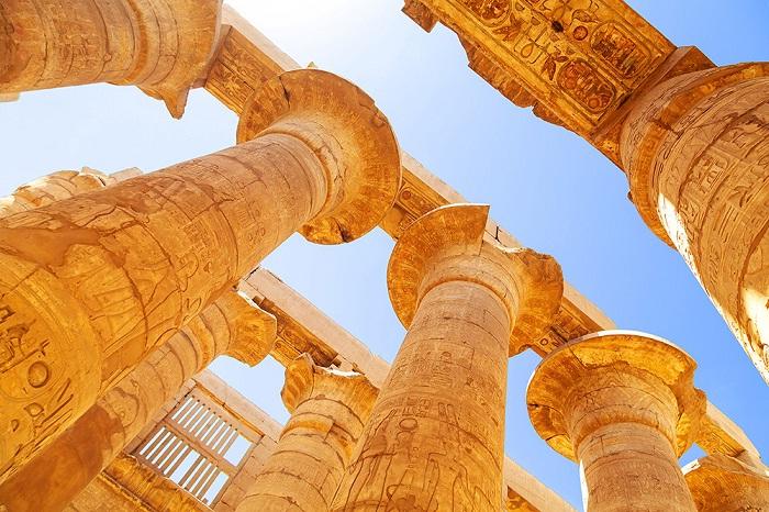 Колонны Карнакского храма