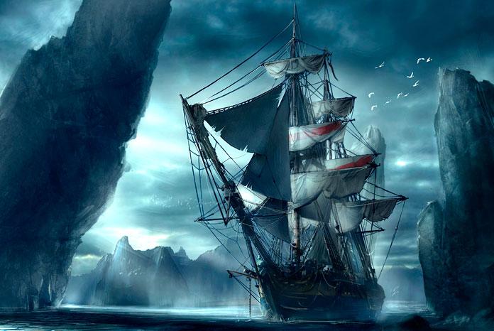 Корабли-призраки XXI века
