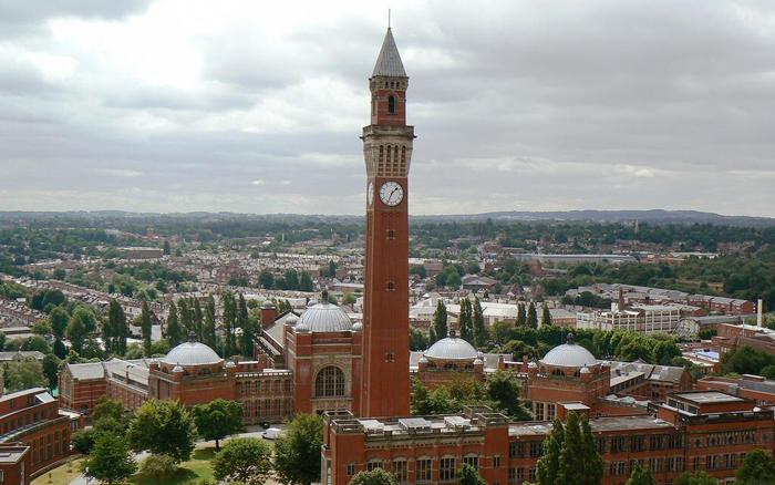 Старый Джо (Old Joe), Университет Бирмингем, Великобритания